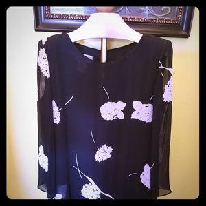 Beautiful  ruffle flower dress
